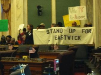 Eastwick Neighbors and Friends at City Hall