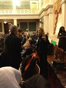 Crowds gather for City Council hearing on Eastwick Flooding Problems