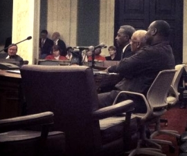 Terry Williams Testifies at Council Hearing