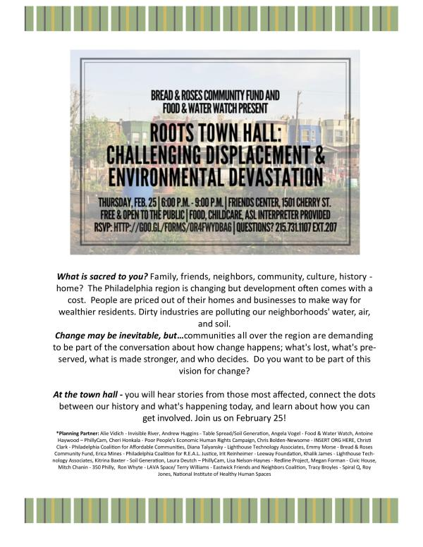 Roots Town Hall Flyer 2016-0225